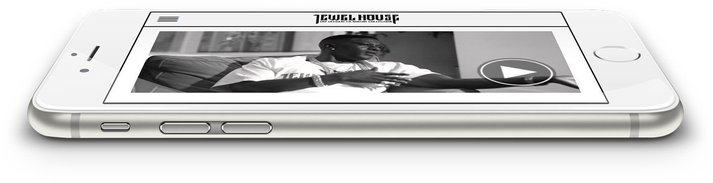 jewel house website iphone isometric view