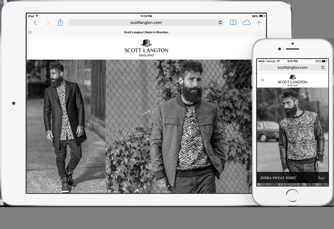 scott langton responsive website mobile devices