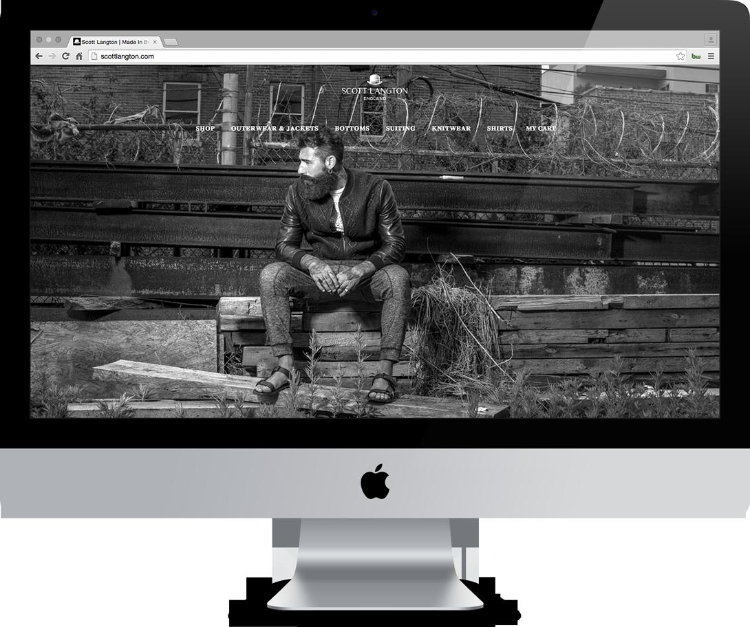 scott langton website imac desktop front view