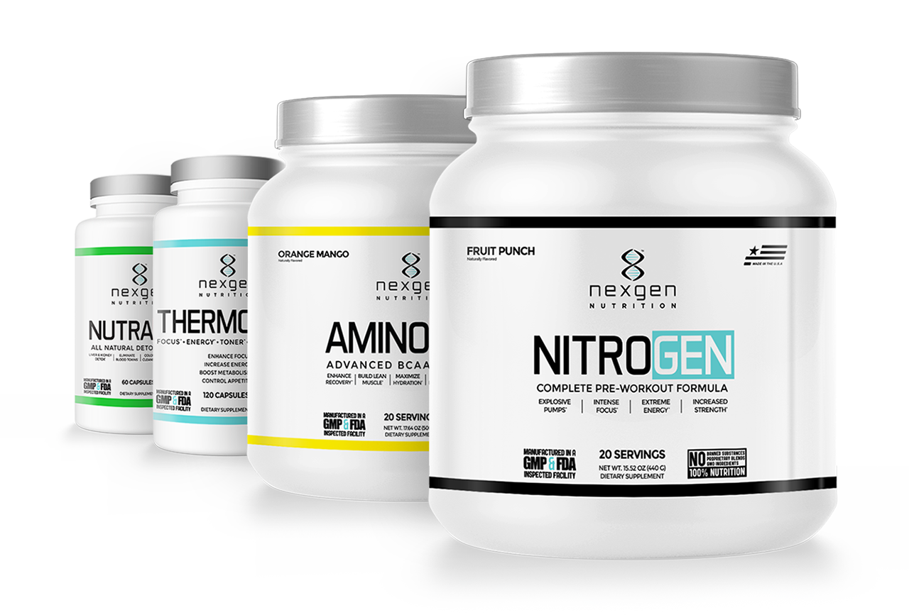 nexgen nutrition supplements packaging
