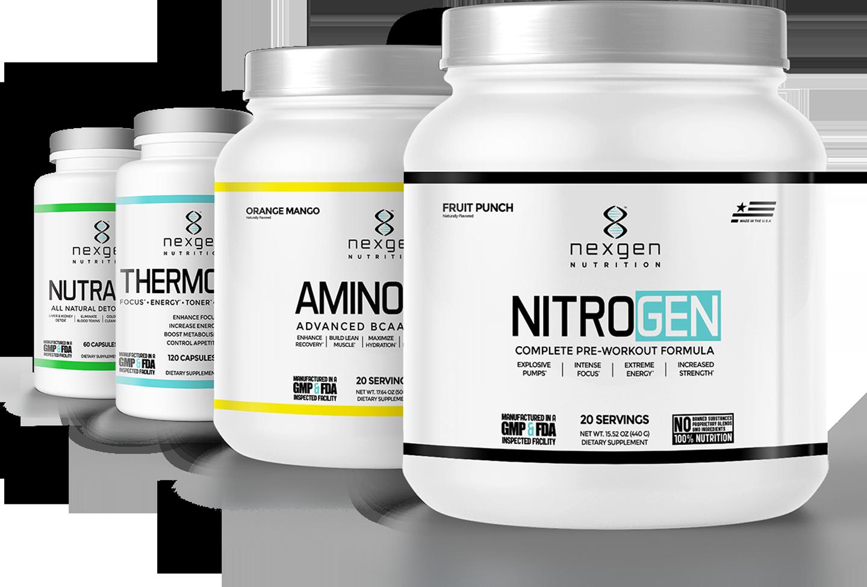 nexgen nutrition product stack